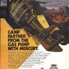 1973 Kiekhaefer Mercury 115 HP Outboard Motor Color Ad- Nice Photo