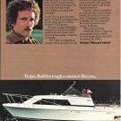 1977 Trojan Boat Company Color Ad- Nice Photo F-25 Express