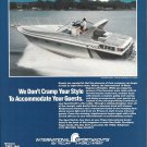 1984 Trojan International 10 Meter Express Yacht Color Ad- Nice Photo