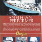 1984 Cheoy Lee Shipyards Color Ad- Nice Photos of 4 Models