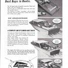 1966 Lyman Boat Works Ad- Nice Photo of 4 Models