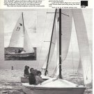 1975 AMF Alcort Sailboats Ad- Nice Photo of Sunbird
