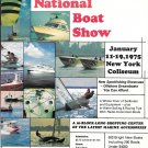 1975 The New York National Boat Show Color Ad- Nice Photos