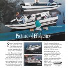 1993 Crestliner Boats Color Ad- Nice Photo of 4 Models