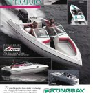 1993 Stingray Powerboats Color Ad- Nice Photos of 5 Models- Hot Girls