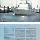 1974 Viking 40' Sedan Fisherman Yacht Review & Specs- Nice Photos
