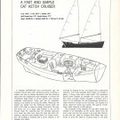 1977 Freedom 40 Cat Ketch Cruiser Yacht Review & Specs