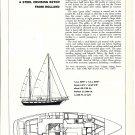 1975 Jongert 54 Steel Cruising Ketch Review & Specs