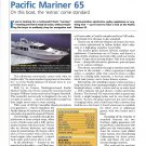 2001 Pacific Mariner 65 Yacht Review & Specs- Photo