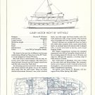 1974 Charles Wittholz 55' Motor Yacht Review & Specs