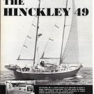 1975 Henry R Hinckley 49 Yacht Ad- Great Photo