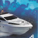 2001 Azimut 46 Yacht 2 Page Color Ad- Nice Photo