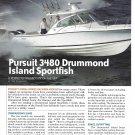 2006 Pursuit 3480 Drummond Island Sportfish Boat Review & Specs- Nice Photos