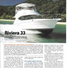 2006 Riviera 33 Yacht Review & Specs- Nice Photos
