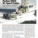 2006 Parker 2820 XL Sport Cabin Boat Review & Specs- Nice Photos