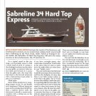 2006 Sabreline 34 Hard Top Express Yacht Review & Specs- Photo