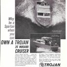 1966 Trojan Boat Company Ad- Nice Photos 26' Sea Skiffs