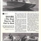 1971 Larson 1600 Shark Boat Review & Nice Photos
