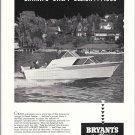 1959 Bryant's Marina Ad- Nice Photo Bryant Boat