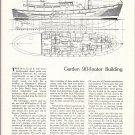 1959 Matsumoto Shipyard- Garden 94' Yacht Review