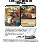 1973 Cheoy Lee Shipyard Color Ad- Nice Photos Offshore 47'