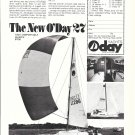 1973 O'Day 27 Yacht Ad- Nice Photo