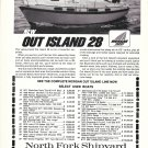 1973 Morgan Out Island 28 Yacht Ad- Nice Photo