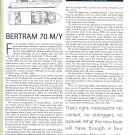 1998 Bertram 70' Motor Yacht Review