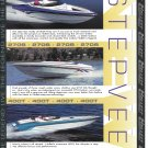 2000 Hallett Boats Color Ad- Nice Photo 3 Models