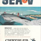 1959 Chrysler Sea V Marine Engine Color Ad