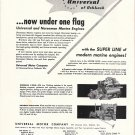 1959 Universal Marine Motors Ad- Photo of 2 Models