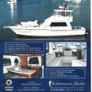 2001 Mediterranean 54 Yacht Color Ad- Nice Photo