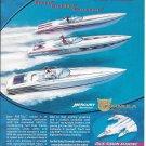 2001 Thunderbird Boats Color Ad- Nice Photo 3 Formula Boats