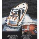 2001 Bavaria Motor Boats Color Ad- Nice Photo 380 Sport