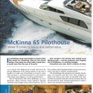 2001 McKinna 65 Pilothouse Yacht Review & Specs- Nice Color Photos