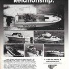 1985 Stamas Yachts Ad- Nice Photos of 6 Models