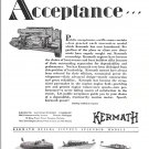 1929 Kermath Marine Engines 2 Page Ad- Photos of 6 1929 Boats