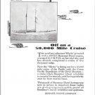 """1929 Bessemer Marine Engines Ad- Nice Photo Schooner """"Illyria"""""""