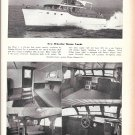 1951 Wheeler 52' Motor Yacht Ad- Great Photos