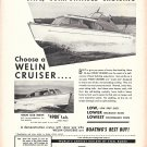 1951 Welin 26' Cruisers Ad- Nice Photos