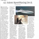 1996 Axiom 42' Yacht Review- Photo