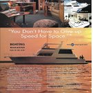 1996 Viking 60' Cockpit Sports Yacht Color Ad- Nice Photos