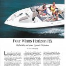 1996 Four Winns 18' Horizon RX Boat Review & Specs-Nice Photos-Hot Girls