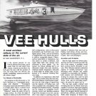 1987 Boats Vee Hulls Review - Nice Photo Racing Boat Michelob Light