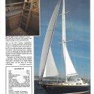1987 Hinckley Sou' Wester 59 Yacht Review & Specs- Nice photos