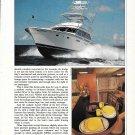 1987 Bertram 54 Yacht Review 7 Specs- Nice photos