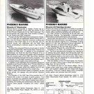 1982 Phoenix Marine 27 & 29' New Yachts Reviews & Specs- Photos