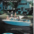 1977 Sea Ray Boats Color Ad- Nice Photo
