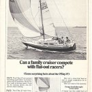 1977 O'Day 27 Yacht 2 Page Ad- Nice Photo