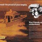 1973 Caterpillar Cal 3160 Marine Diesel Engine Ad- Nice Photo